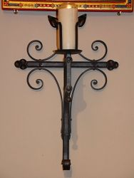 St Claire's RC church Candle holder